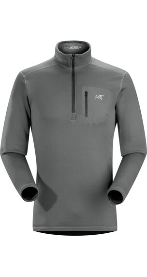 Arc'teryx M's Rho AR Zip Neck Iron Anvil